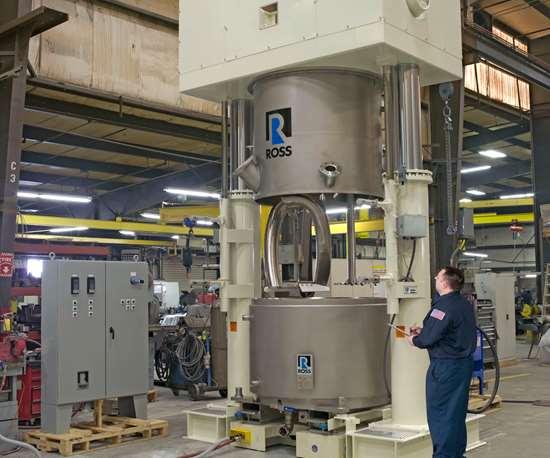 High-Shear Mixer for High-Viscosity materials