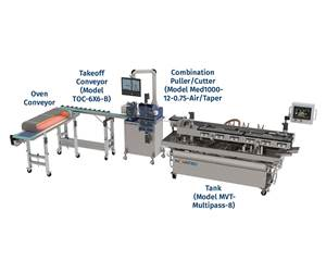 New Downstream System For Inline Cutting, Curing of TPU Tubing
