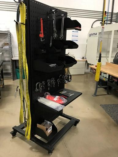 Molders Choice mold set up cart