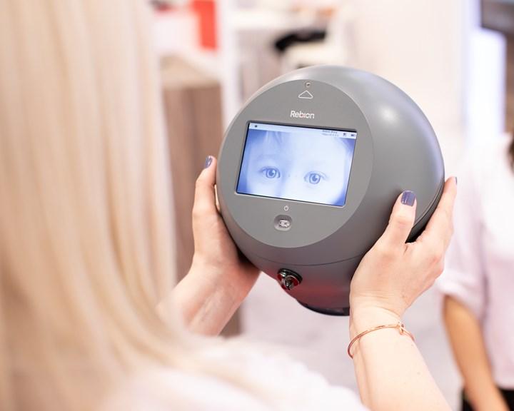 blinq pediatric vision scanner REBIScan Canon Virginia