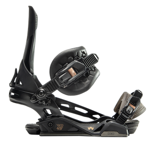 Snowboard binding made by Injection Overmolding
