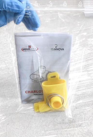 Oldrati Charlotte easy valve