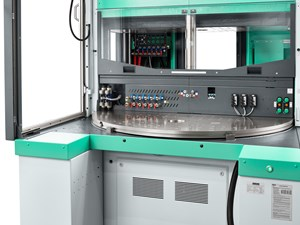 Injection Molding: Vertical Line Features Larger Table