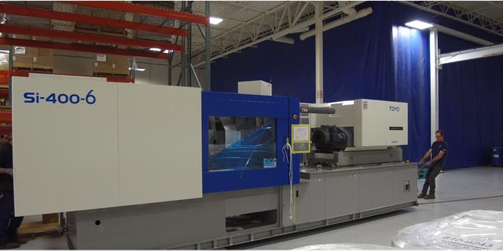 Garner Industries Toyo injection molding machine