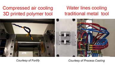 metal vs. printed polymer tools