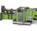 Injection Molding: Hybrid Line Targeting Packaging Adds Lower Tonnage