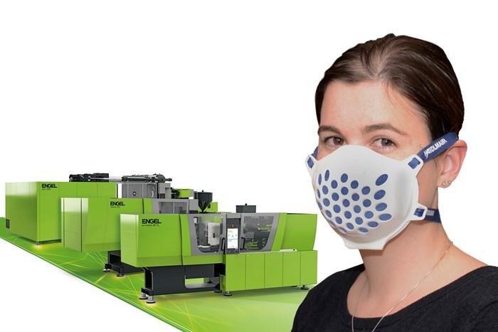Engel and Haidlmair Team Up for Reusable Face Mask