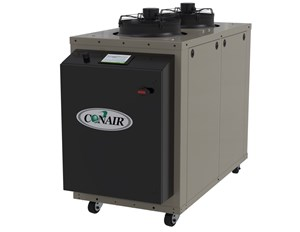 Process Cooling: Portable Chillers Add PLC Control, Color Touch Screen