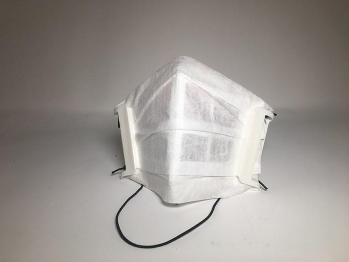 Essentium 3D printed reusable mask