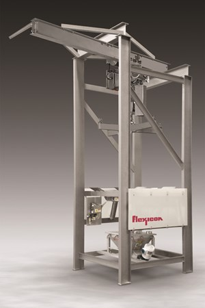 Material Handling: Bulk-Bag Discharger Features Open-Channel Construction