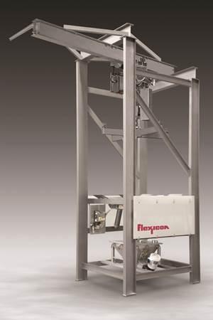 Material Handling: Bulk-Bag Discharger Features Open-Channel Construction