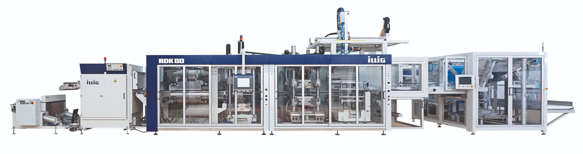 Illig inline thermoforming machine for packaging