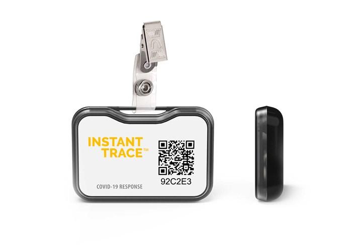 Insta-Trace badge