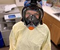 Mack Helps Convert Snorkeling Mask into Much-Needed PPE