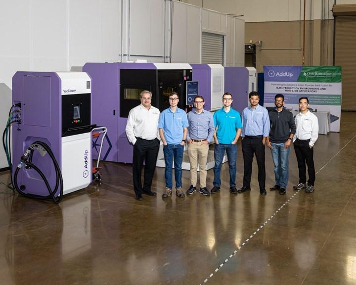 Oak Ridge National Laboratories and AddUp metal additive manufacturing tooling