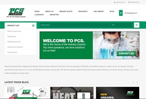 PCS Company Launches New Website