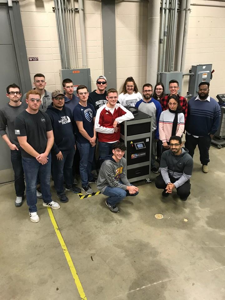 Pittsburg State plastics engineering