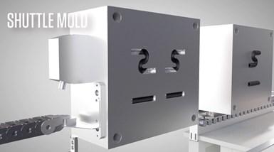 Shuttle Mold System Parts Comparison