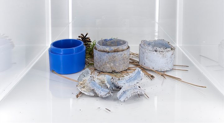 Zeroplast biodegradable material