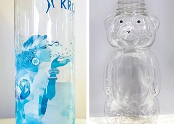 Blow Molding: Digital Inkjet Printing onto PET Bottles