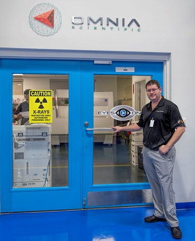 """Thomas """"TJ"""" Schuler, director of Omnia Scientific, brings experience in molding, tooling and quality assurance to his firm's metrology services."""