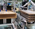 At K 2019, BBM demonstrated a new all-electric shuttle blow molder for stackable jerrycans. Inside the machine is a Universal Robots six-axis cobot for takeout and trimming.