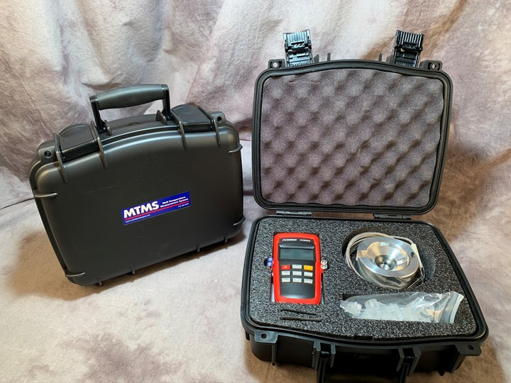 New Melt Temperature Measurement System (MTMS) comes as a kit
