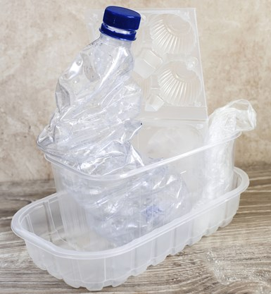 PET bottle and thermoforms