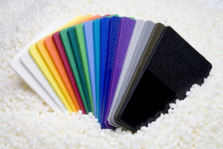 Colorants can add significantly to material costs.