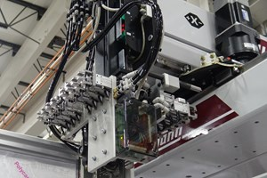 """Two examples of micro-inserts that are increasingly commont, but can challenge the capabilities of older automation systems designed for """"normal"""" sized parts."""