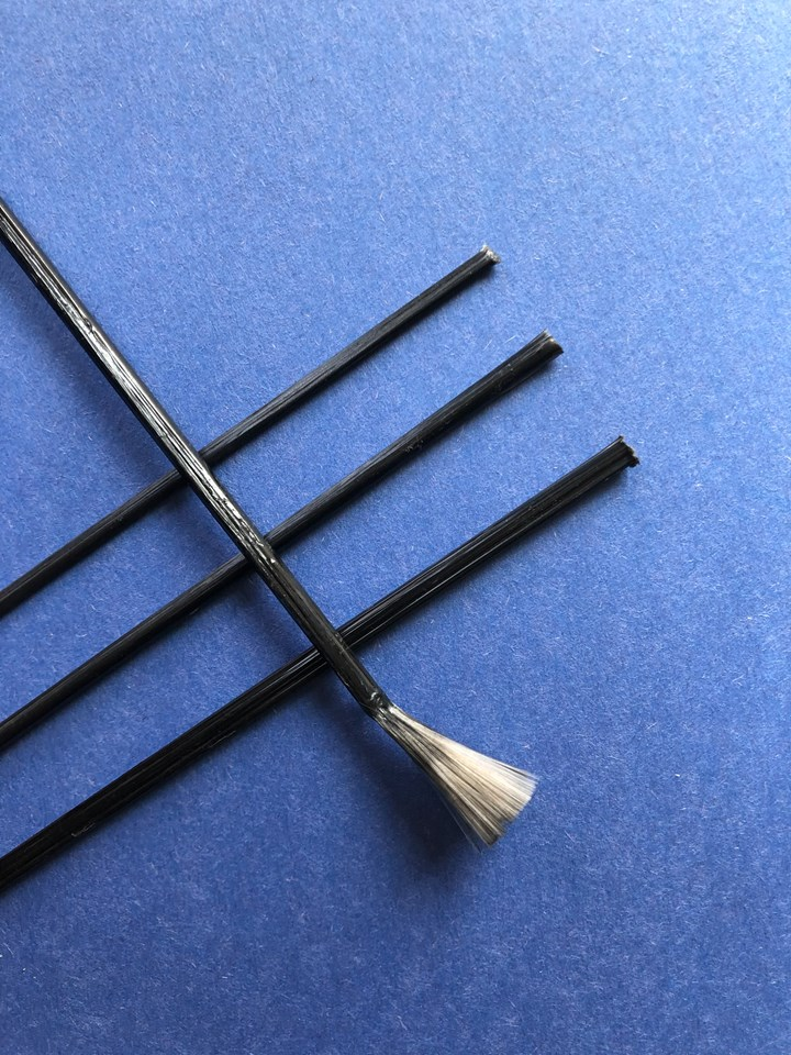 Integrated Composite Products' continuous fiber rods for large, flat PP parts