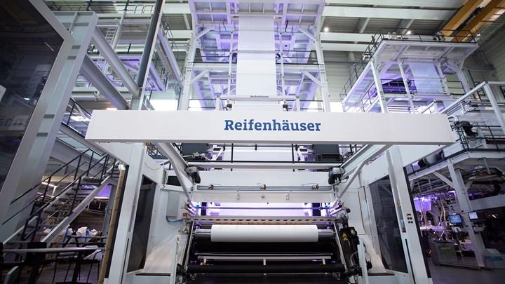 Reifenhauser Converts Lab Line for Hospital Garments