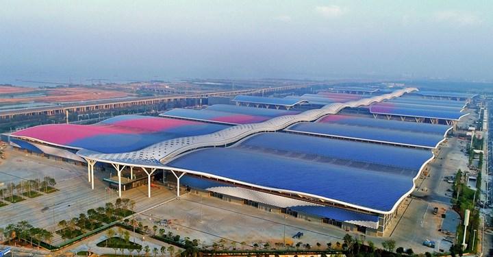 Shenzhen World Exhibition and Convention Center in Shenzhen