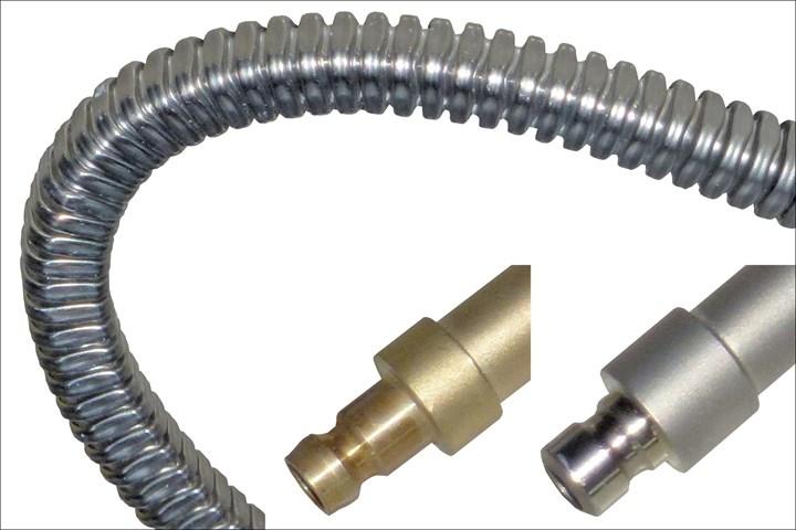 Hasco braided metal cooling hose
