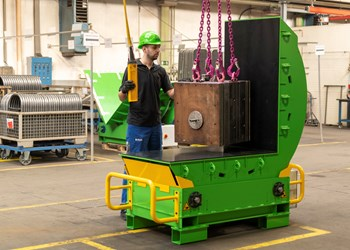 Injection Molding: Mold Mover Made More Ergonomic