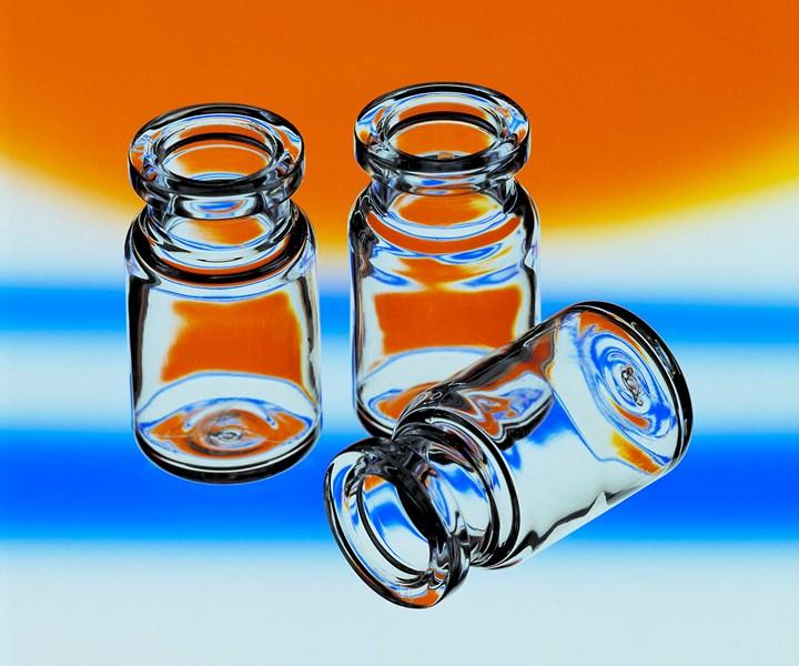 Medical vials of Topas COC