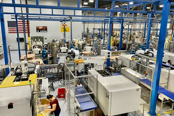 Slowed—but not Stopped—by the Pandemic, Custom Molder Catches Up with Its Plans for Growth image