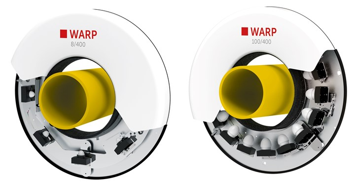 WARP 8和100系列测量系统