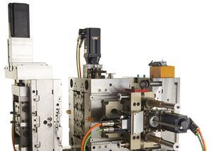 Servo-driven mold systems are gaining popularity.