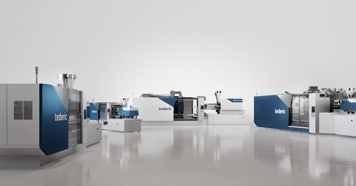 Tederic NEO injection molding machines