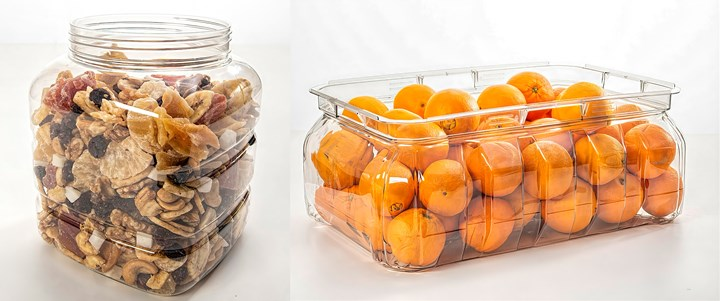 Large containers with wider mouths are another new feature offered by Priority Plastics' ISBM technology.