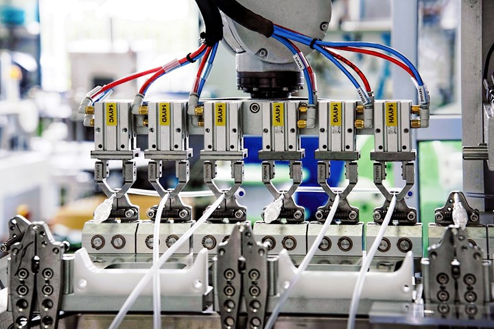 Tecnoideal medical assembly automation.