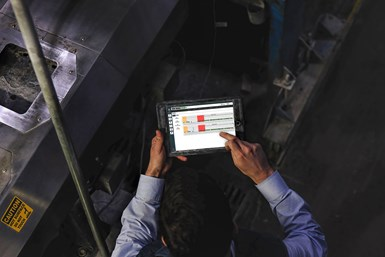 Alterra operators are equipped with tablets to help them track process parameters and benotified immediately if anything is off-spec.