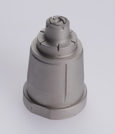 TrueShape mold inserts can be made with a smooth matte surface finish comparable to EDM machining and ready to mold.