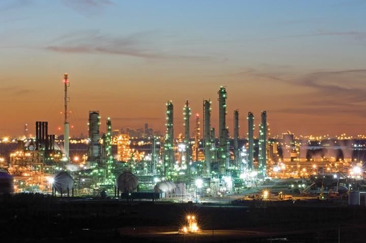 埃克森美孚化学公司在德克萨斯州贝城的工厂
