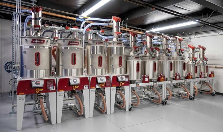 目前,该工厂正处于第二阶段,拥有两台威特曼DryMax中央烘干机,第三阶段还将增加第三台。