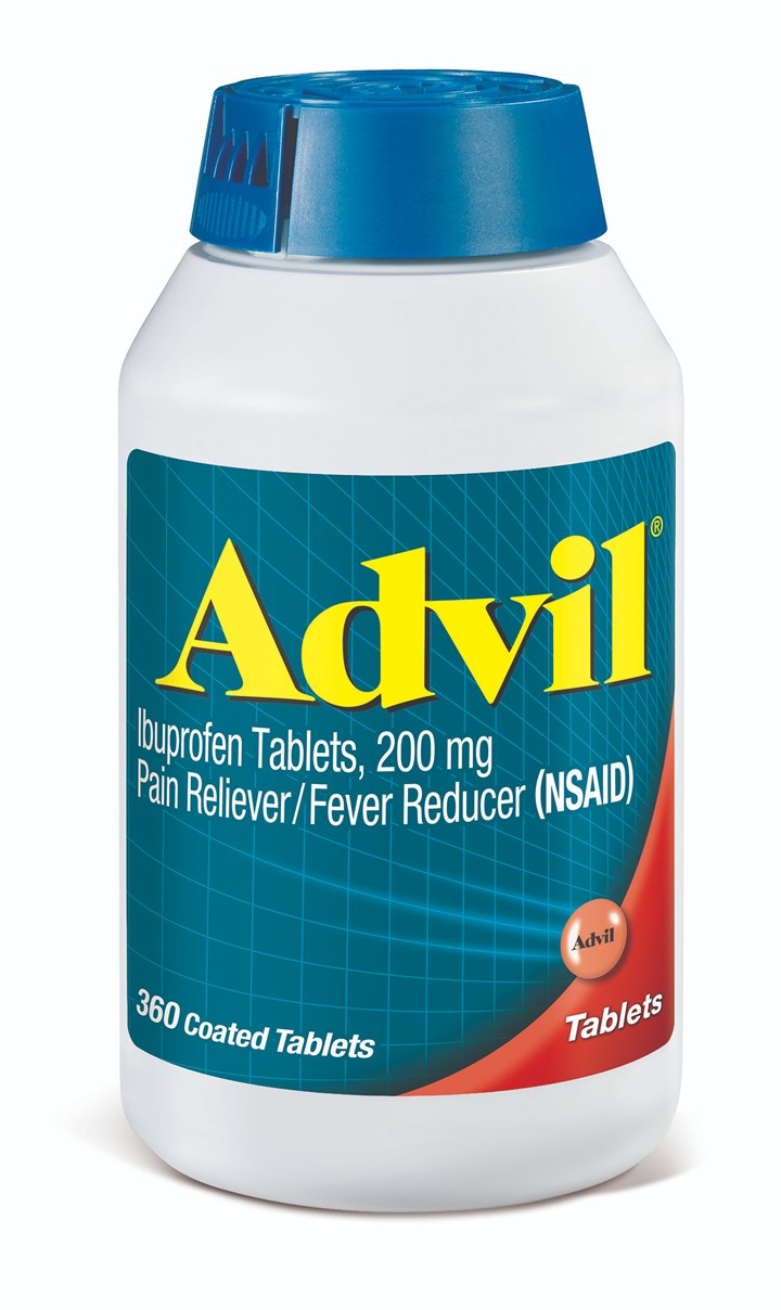 Bottles of Advil portfolio will have 20% less HDPE thanks to new barrier