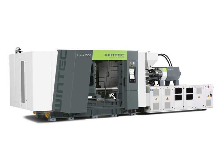 Wintec t-win injection molding machines