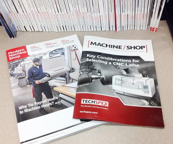 Modern Machine Shop and Techspex