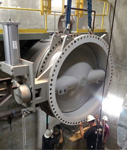 Rigging and Lifting of Large Valves